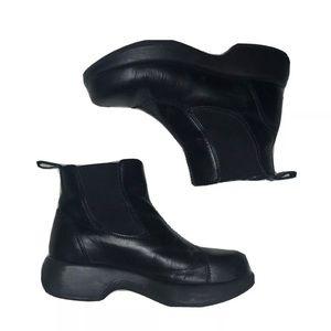 Dansko Black Ankle Boots Booties Sz 36